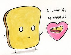 Mr Toast Valentine