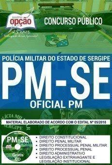 Apostila Concurso PM SE 2018 | OFICIAL PM
