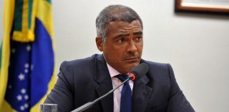 A notícia de que Romário era dono de uma conta no banco BSI da Suíça foi noticiada pela revista Veja em julho deste ano / Foto: Zeca Ribeiro/Câmara dos Deputados