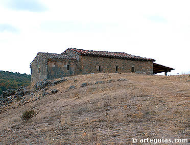 Ermita de Santa María de Barbadillo del Pez, probablemente  del siglo IX