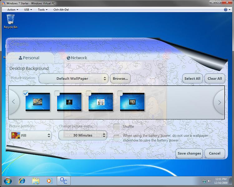 Change in Windows 7 Starter-program2