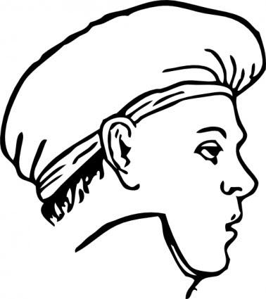 Memasak Pakaian Sallad Topi Clip Art Vektor Clip Art Vektor Gratis