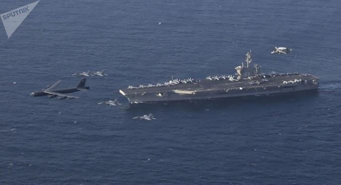 Oficiais de porta-aviões dos EUA afirmam 'estarem prontos para atacar' Irã se ordenados