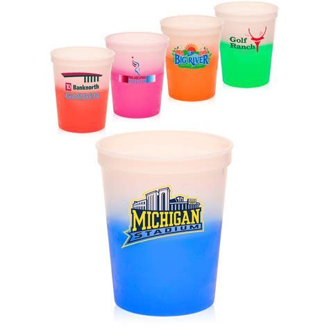 Ideas: Pretty Personalized Plastic Cups For Cool Drinkware