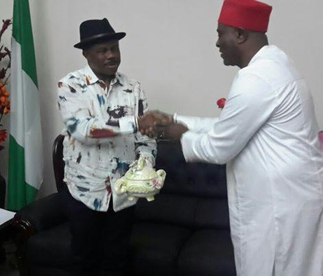 Osaro Onaiwu Visits Governor Obiano
