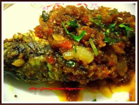 garam kunyit ikan talapia masak sambal ala thai
