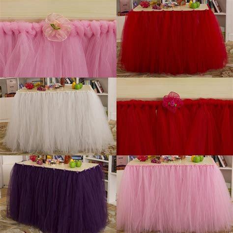 2019 2015 Pastoral Wedding Tutu Table Skirt 91.5 Cm*80 Cm