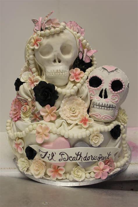 Sugar skull Wedding Cake   Xtra Special Cakes