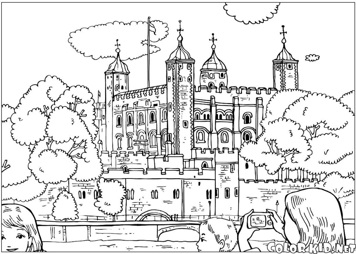 Boyama Sayfası Londra Kulesi