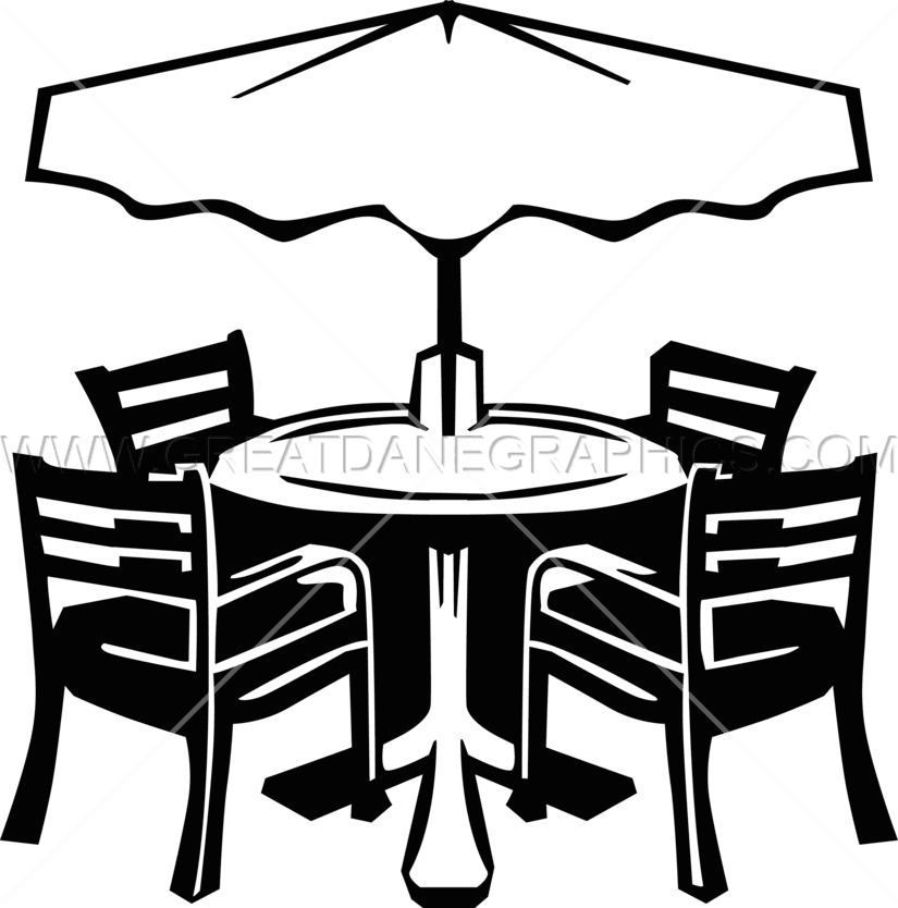 Patio Furniture | Production Ready Artwork for T-Shirt ...