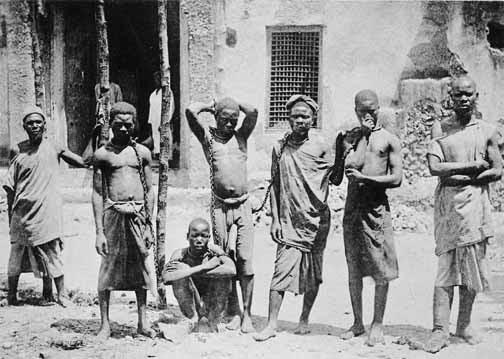 African slaves