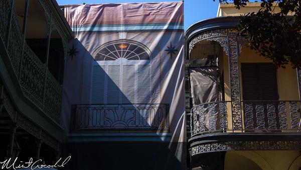 Disneyland Resort, Disneyland, New Orleans Square, Club 33, Rooftop, Refurbishment, Refurb