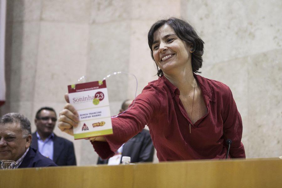 Soninha defende mudanças na Guarda Civil / Foto: Lucas Lima/Folhapress