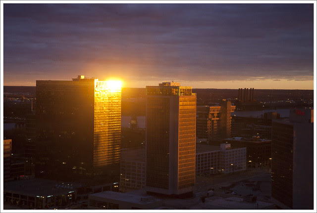 Downtown sunset 2011-12-30 1