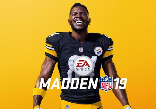 Avatar of Antonio Brown got the 'Madden 19' cover — without a helmet