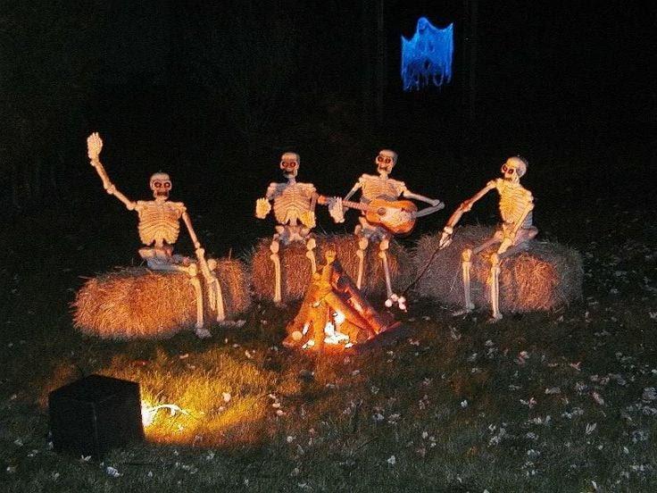 5 Spooky Campsite Decorating Ideas Normandy Farms