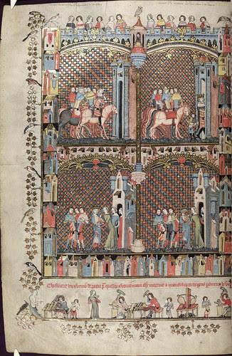 The Romance of Alexander 164v MS. Bodl. 264