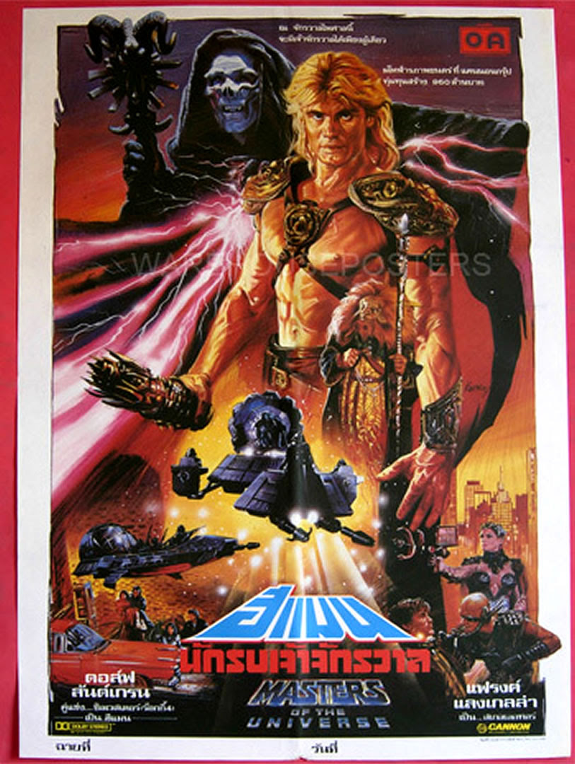 Masters Of The Universe Thai B Movie Posters