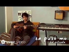 Sa Puso Mo by KD Estrada [Lyric Video]