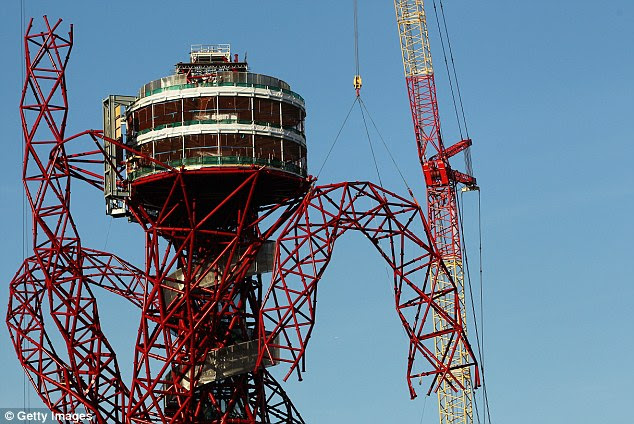 Viewpoint: The two-level observation deck will allow spectators to watch the action in the Olympic stadium