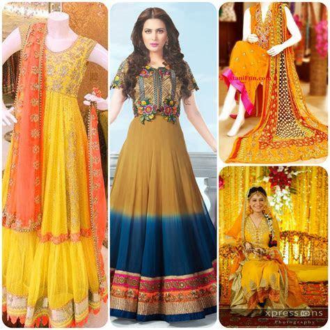 Best Design Dress for Bridal on Mehndi Function & Event