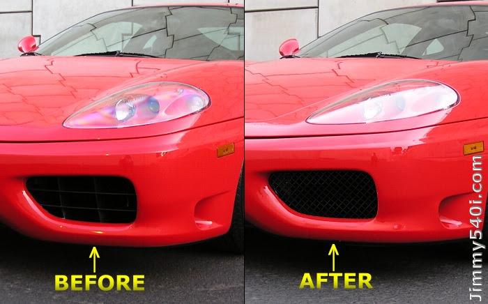 Front Challenge Grills Ferrari Life
