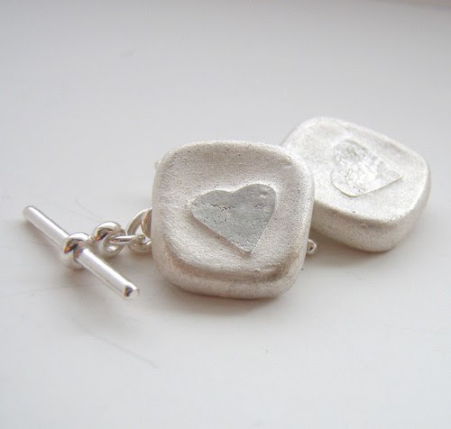 ebb hearts cufflinks