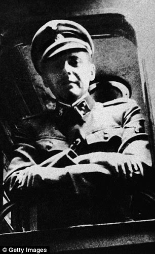 Dr Josef Mengele conducted grotesque experiments at Auschwitz and sent thousands to the gas chambers