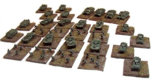Modern British battle group