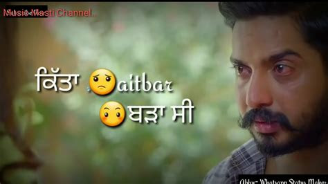 punjabi sad whatsapp status whatsapp sad status