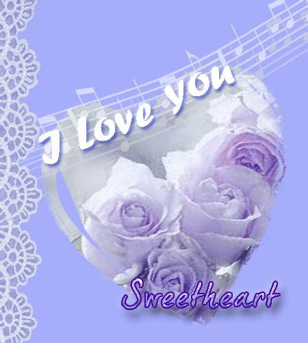 Melody Of Love For Your Sweetheart. Free I Love You eCards