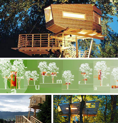 10 Amazing Tree Houses: Plans, Pictures, Designs, Ideas & Kits ...