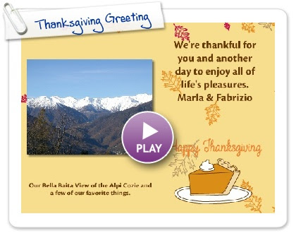 Click to play Thanksgiving Greeting