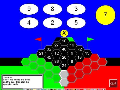 Math Galaxy Bridge the Swamp 1