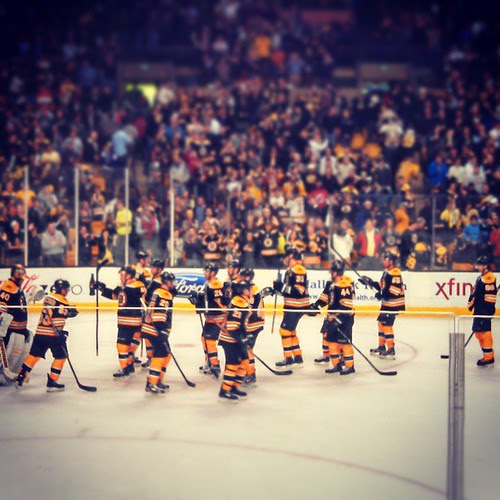 Bruins Win! #boston #bruins #hockey Bruins vs Devils...  sorry @krissienewman :)