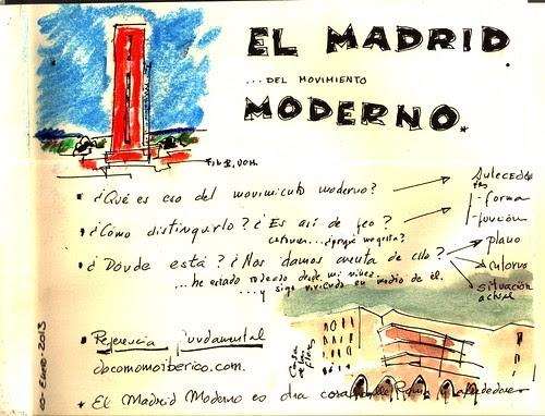 el Madrid del movimiento moderno