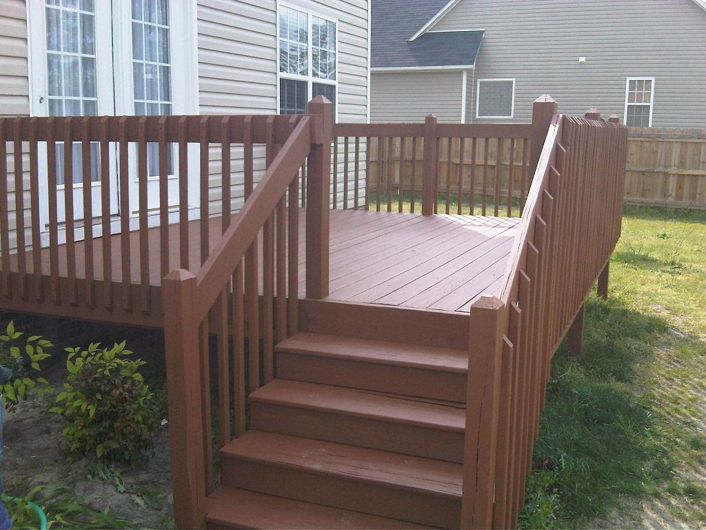 Another nicely Stained Deck