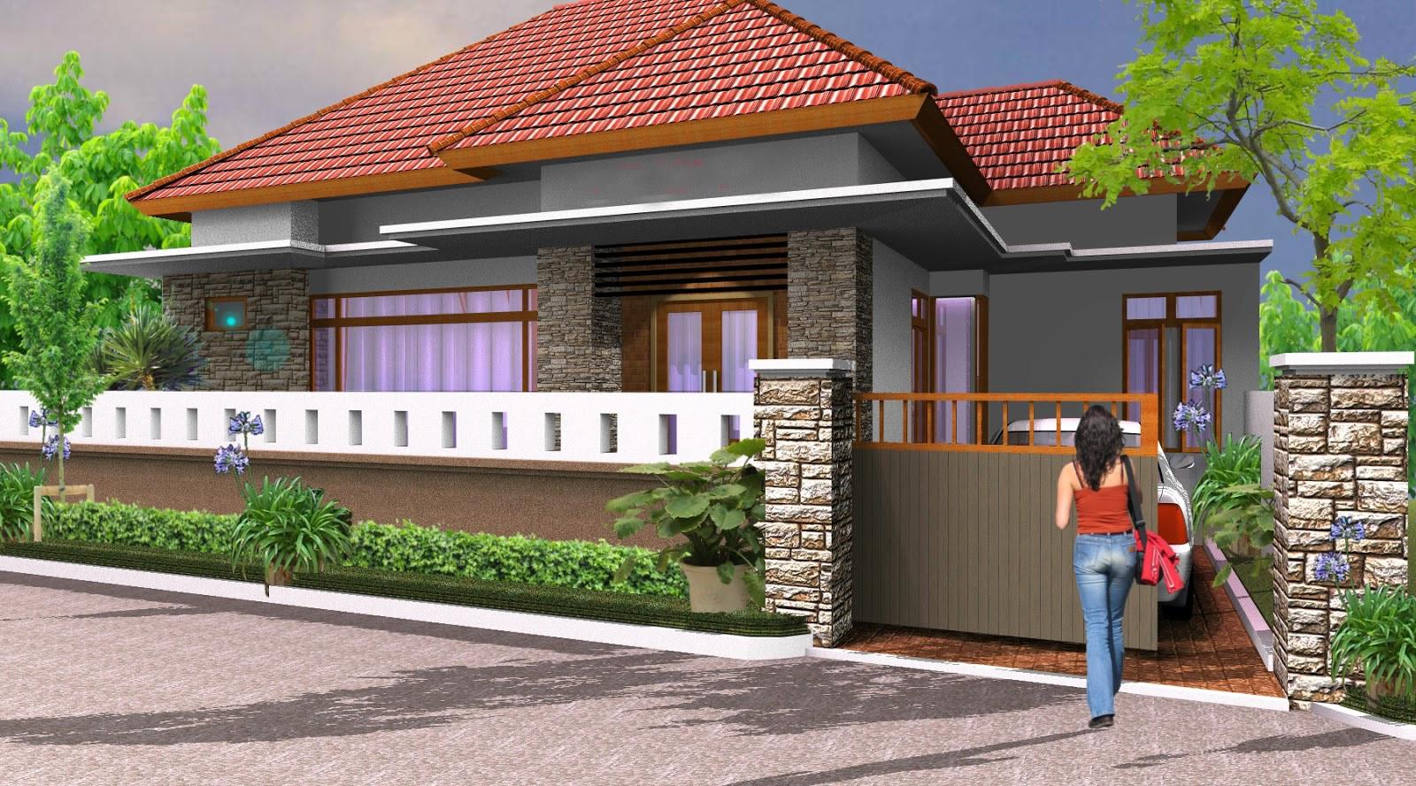Pagar Rumah Minimalis 4 Desain Rumah Minimalis