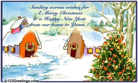 Wish A Happy New Year  Free From Our Home to Yours