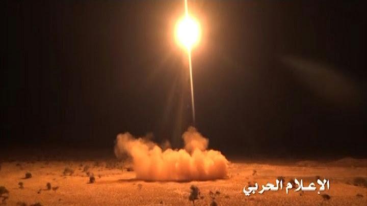 Yémen : Pour la 1ère fois, un missile yéménite s'abat à l'ouest de Ryad