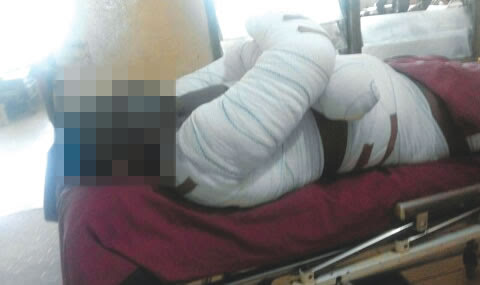 Reverend father allegedly burnt in lover's house flown abroad(Photo)