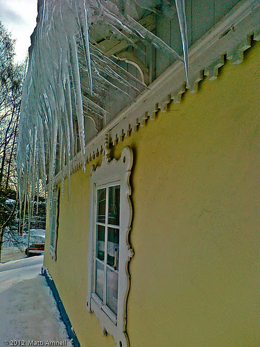 A Daycare centre in Haaga - icicles