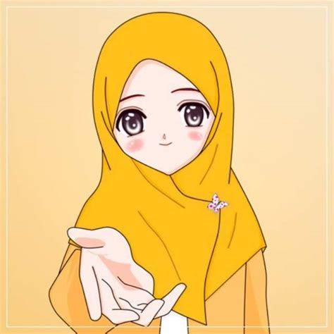 gambar wallpaper kartun hijab muslimah portal muslimah