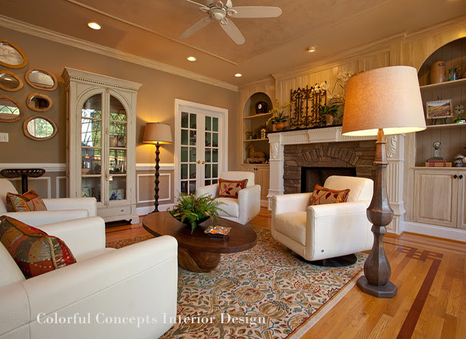 Raleigh Interior Designers | Colorful Concepts | NC Design Online