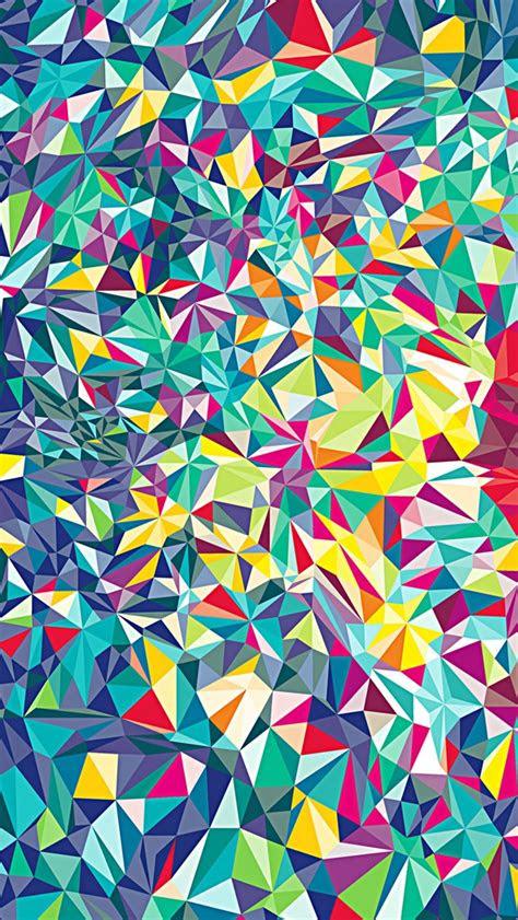 colorful kaleidoscope pattern wallpaper  iphone