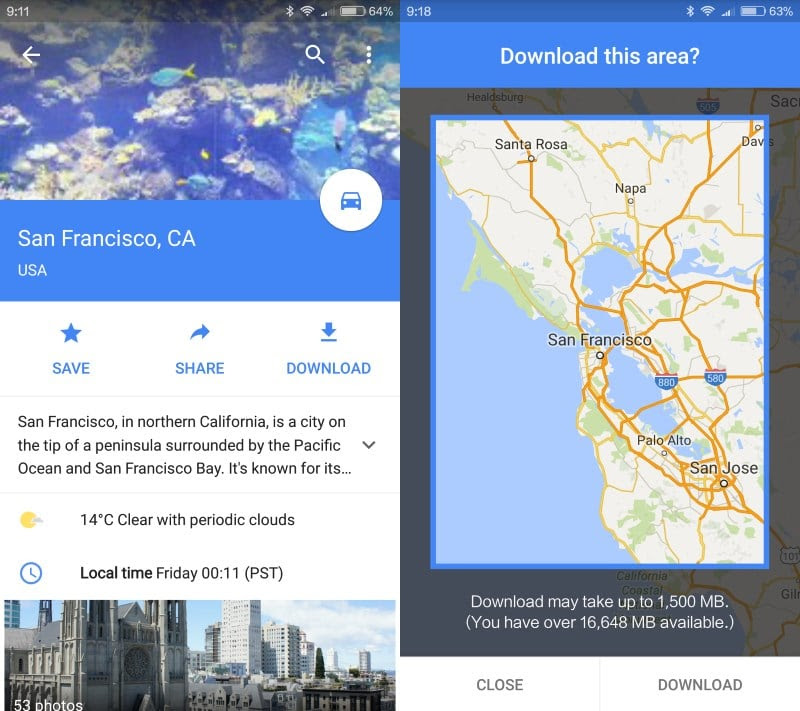 How To Download Map Data For Offline Use In Google Maps