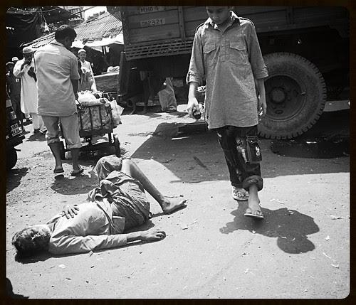 The Fallen Man by firoze shakir photographerno1