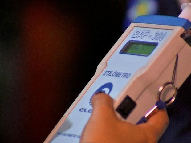 Blitz da Lei Seca foi realizada na MT-060 em Mato Grosso (Foto: TVCA/Reprodução)