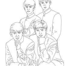 The Beatles Zum Ausmalen Zum Ausmalen De Hellokids Com