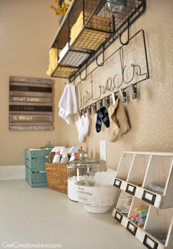 Laundry Room Organization Ideas